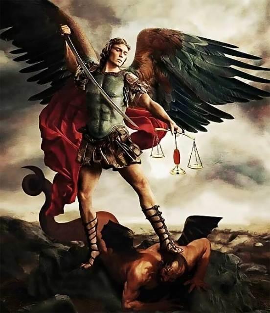 San Miguel Arcángel poderoso defensor. Oración